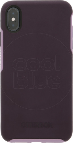 Otterbox Symmetry Apple iPhone Xs Max Back Cover Paars Main Image