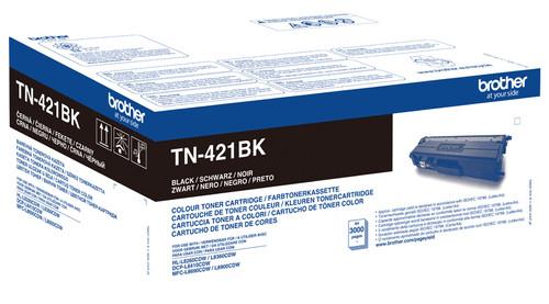 Brother TN-421BK Toner Black Main Image