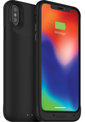 huge discount b84dc 64448 Mophie Juice Pack Air iPhone X Back Cover Black