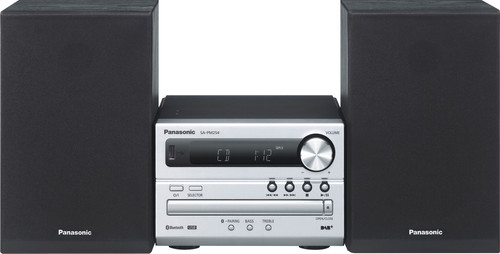 Panasonic SC-PM254EG-S Zilver Main Image