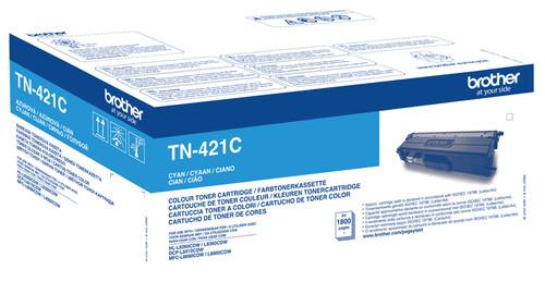 Brother TN-421C Toner Cyan Main Image