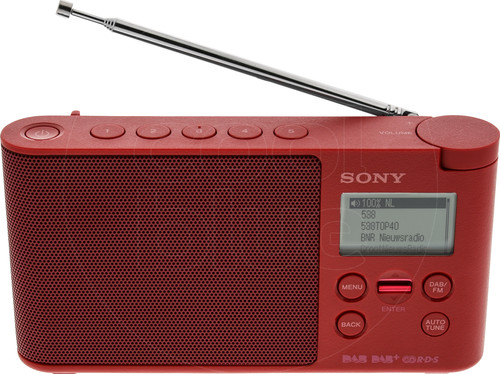 Sony XDR-S41D Rood Main Image