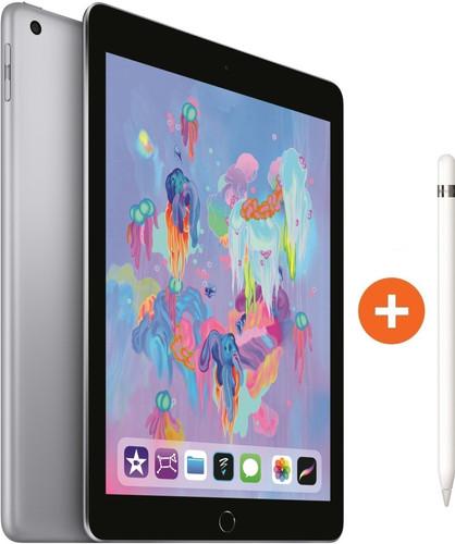Apple iPad (2018) 32 GB Wifi Space Gray + Pencil Main Image