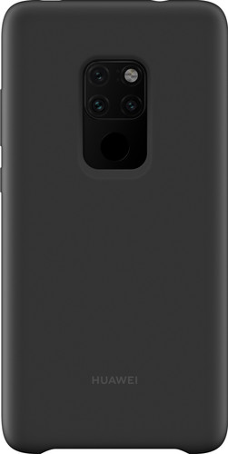 Huawei Magnetic Silicone Huawei Mate 20 Back cover Black Main Image