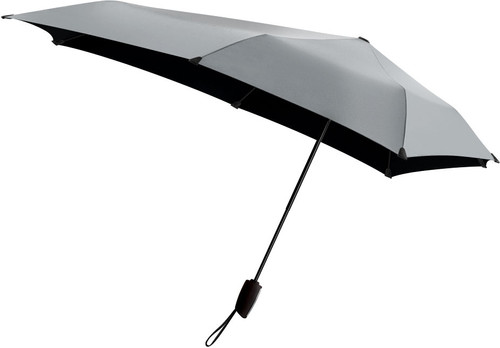 Senz ° Automatic Storm Umbrella Shiny Silver Main Image