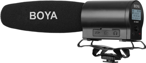 Boya BY-DMR7 Mini Condenser Microphone with Recorder Main Image