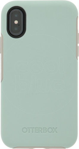 Otterbox Symmetry Apple iPhone X Back Cover Blue Main Image