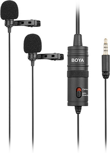 Boya BY-M1DM Duo Lavalier Microfoon Main Image