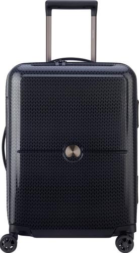 Delsey Turenne Slim Cabin Size Trolley 55cm Black Main Image