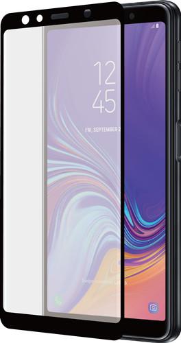 Azuri Curved Gehard Glas Samsung Galaxy A7 (2018) Screenprotector Glas Zwart Main Image