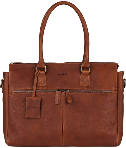 5ad8bccbd8195 Burkely Antique Avery Laptop Bag 15.6 inches Cognac Main Image ...
