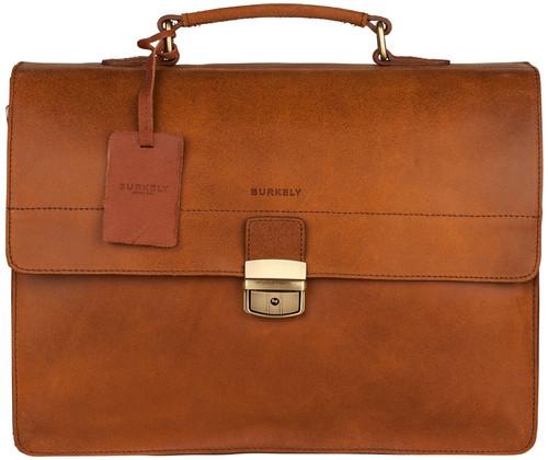 Burkely Vintage Dean Briefcase 3 Cognac Main Image