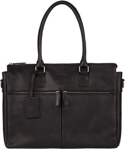 "Burkely Antique Avery Laptop Bag 15,6 ""Black Main Image"