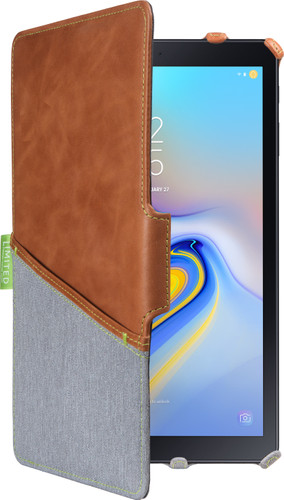 Gecko Covers Limited Samsung Galaxy Tab A 10.5 Book Case Brown Main Image