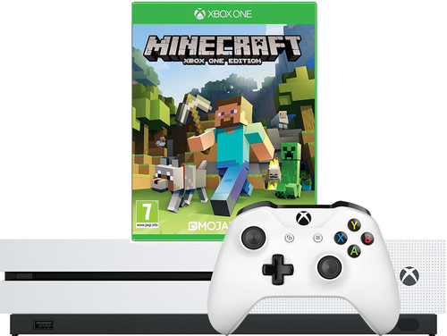 Xbox One S 1TB + Minecraft Main Image