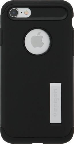 super popular b8d24 70cb0 Spigen Slim Armor Apple iPhone 7/8 Zwart