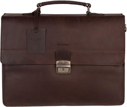 Burkely Vintage Dean Briefcase 3 Brown Main Image