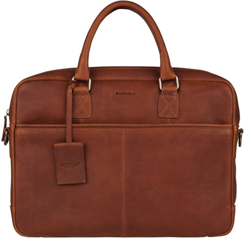 f38009f278e Burkely Antique Avery Laptop Bag 15 '' Cognac - Coolblue - Before 23 ...