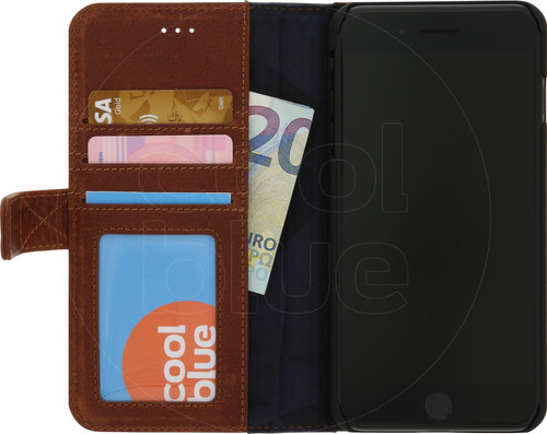 Decoded Leather Wallet Case Apple iPhone 7 Plus/8 Plus Brown Main Image