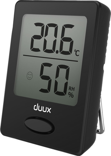 Duux Sense Hygrometer and Thermometer Black Main Image
