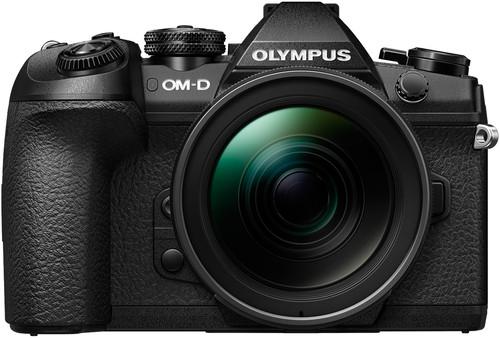 Olympus OM-D E-M1 Mark II Body Black + 12-40mm Main Image