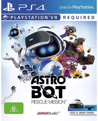 Astro Bot VR PS4 Main Image