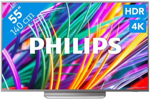 Philips 55PUS8303 - Ambilight Main Image