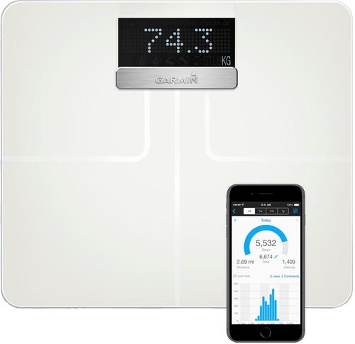Garmin Index Smart Scale White Main Image