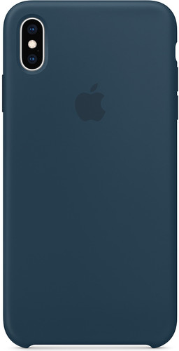 Apple iPhone XS Max Silicon Back Cover Pacific Green Main Image