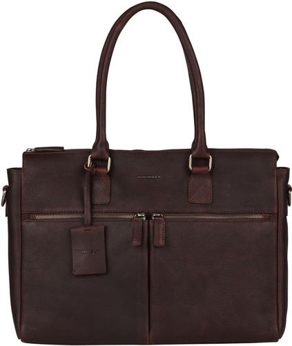 "Burkely Antique Avery Laptop Bag 15,6 ""Brown Main Image"