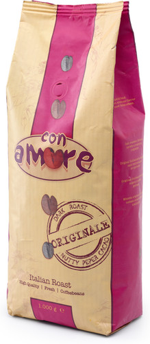 Caffe Con Amore Decaffeinato coffee beans 1 kg Main Image