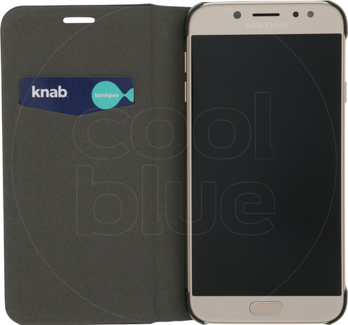 Azuri Booklet Ultra Thin Samsung Galaxy J7 (2017) Book Case Black Main Image
