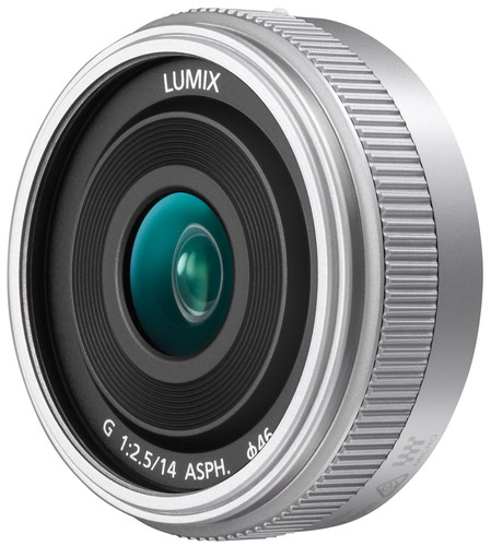 Panasonic Lumix G 14mm f/2.5 II ASPH. Zilver Main Image