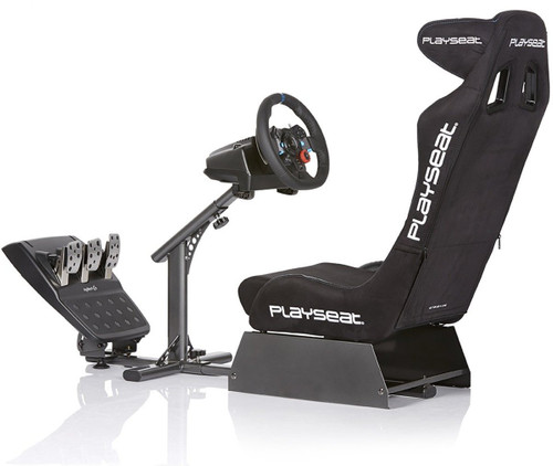 Playseat Evolution Alcantara Pro Racing Cockpit achterkant