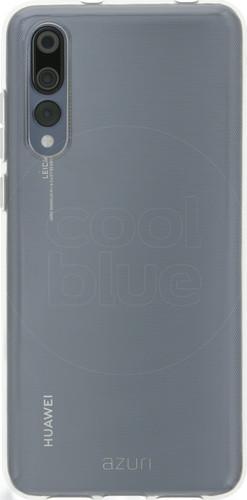 Azuri TPU Ultra Thin Huawei P20 Pro Back Cover Transparant Main Image