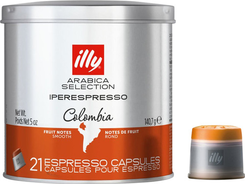 Illy Iperespresso Capsules Colombia 21 pieces Main Image