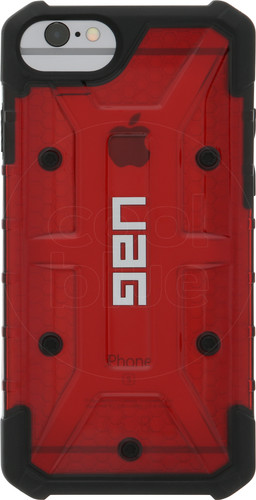UAG Plasma Magma Apple iPhone 6/6s/7/8 Back Cover Red Main Image