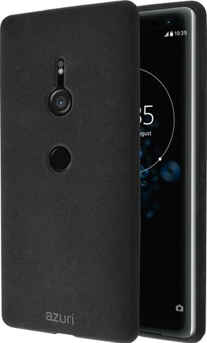 Azuri Flexible Sand Sony Xperia XZ3 Back Cover Black Main Image
