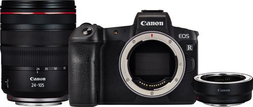 Canon EOS R + EF-EOS R Adapter + RF 24-105mm f/4L IS USM Main Image