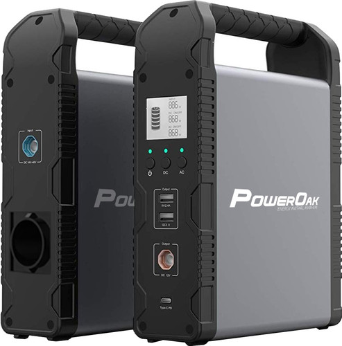PowerOak PS1 Solar Power Bank 54,000 mAh Main Image