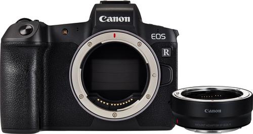 Canon EOS R + EF-EOS R Adapter Main Image