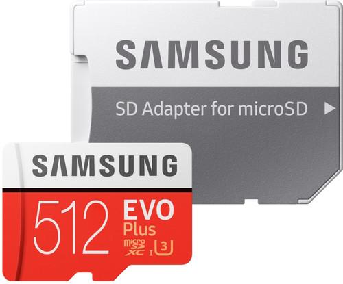 Samsung microSDXC EVO+ 512GB 100MB/s CL 10 + SD Adapter Main Image