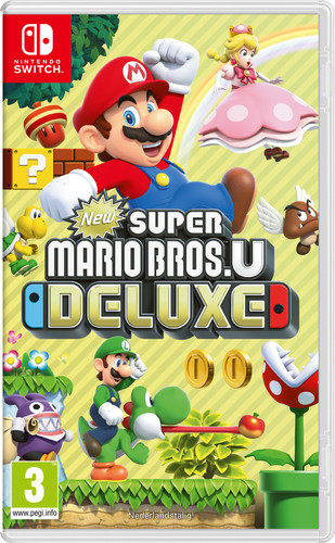 New Super Mario Bros. U Deluxe Switch Main Image