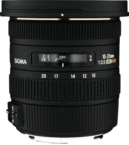 Sigma 10-20mm f/3.5 EX DC HSM Canon Main Image