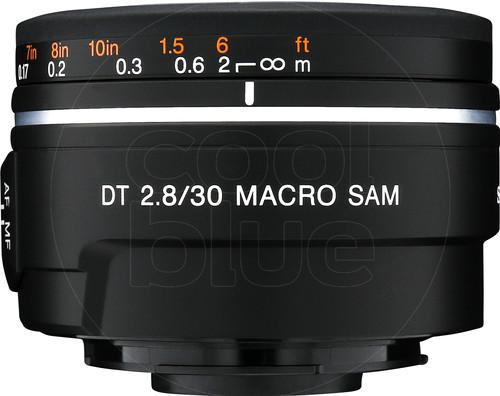 Sony 30mm f/2.8 SAM DT Macro Main Image