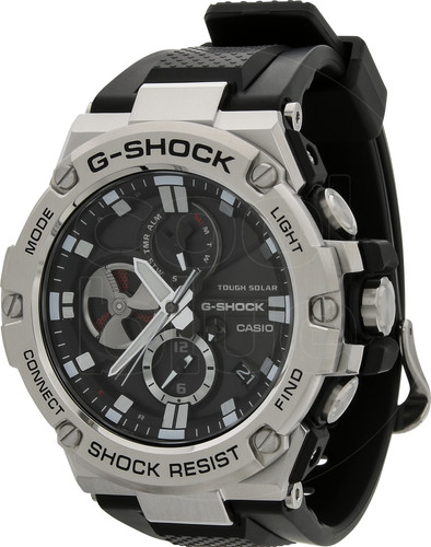 b66df05e134c Casio G-Shock G-Steel GST-B100-1AER - Coolblue - Before 23 59 ...