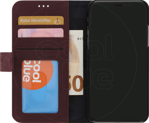 Decoded Leather 2-in-1 Wallet iPhone X/Xs Book Case Red Main Image