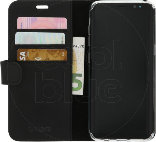 Valenta Booklet Classic Luxury Samsung Galaxy S8 Book Case Black Main Image