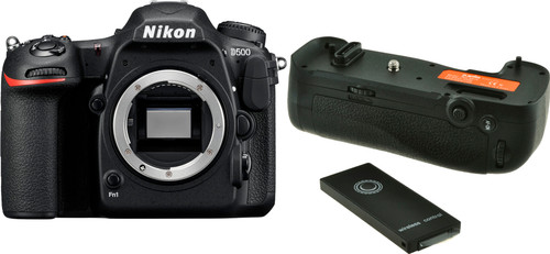 Nikon D500 Body + Jupio Battery Grip JBG-N014 Main Image