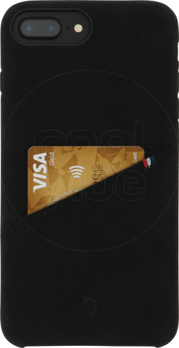 Decoded Leather iPhone 8 Plus / 7 Plus / 6s Plus / 6 Plus Back Cover Zwart Main Image